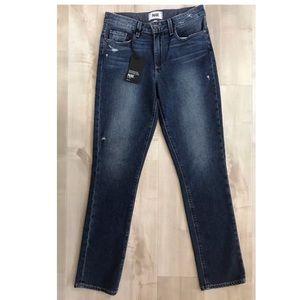 PAIGE Julia Straight Tamara Jeans Mid-rise